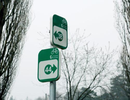 Pays Burdinale Mehaigne : une carte pour se déplacer à vélo en suivant les points-nœuds